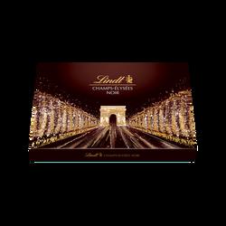 Assortiment de 41 bouchées de chocoloat noirs extra fin Champs-ElyséesLINDT, boîte de 470g