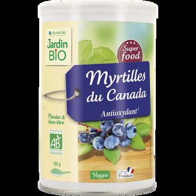 Super fruit Myrtil Canada JARDIN BIO