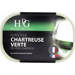 HISTOIRE DE GLACE CHARTREUSE VERTE