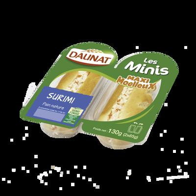 Mini maxi moelleux surimi DAUNAT, 130g