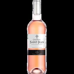 Vin rosé AOP Côtes du Marmandais La Chapelle Saint Jean, 75cl
