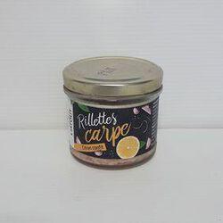 Rillettes de carpe au citron confit LIATOUT pot 90g