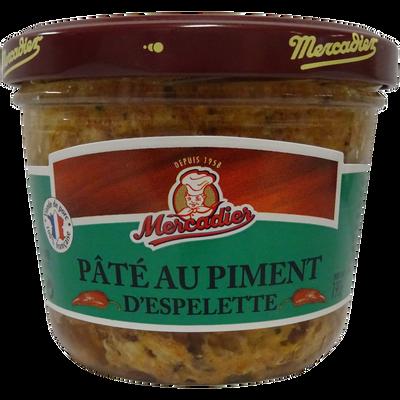 Pâté piment espelette, LOU GASCOUN, 190g