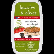 Recette à base de tomate et olive CRUSCANA, 150g