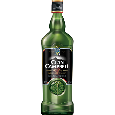 Blended Scotch whisky Clan CAMPBELL, 40°, 1l