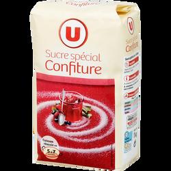 Sucre spécial pour confiture U, paquet de 1kg
