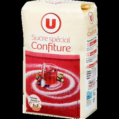 Sucre spécial pour confiture, U, paquet de 1kg