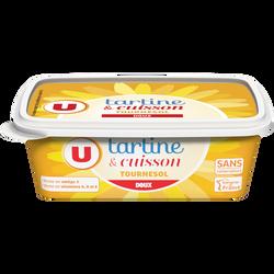 Margarine allégée de cuisson au tournesol  60% de matière grasse U, 250g