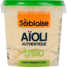 Sauce aïoli bio LA SABLAISE, 135g