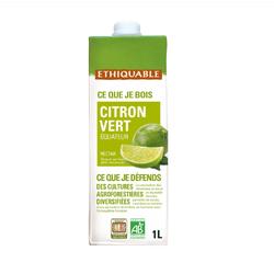 Nectar citron vert Equateur BIO ETHIQUABLE 1l