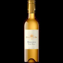 Vin blanc moelleux de France , 11°, bouteille de 75cl
