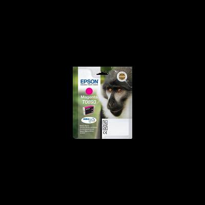 Cartouche d'encre EPSON pour imprimante, T0893 magenta Babouin, sous blister