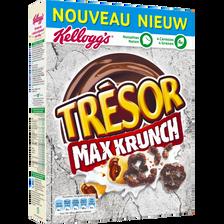 Céréales, TRESOR, max krunch Kellogg's, paquet de 375g