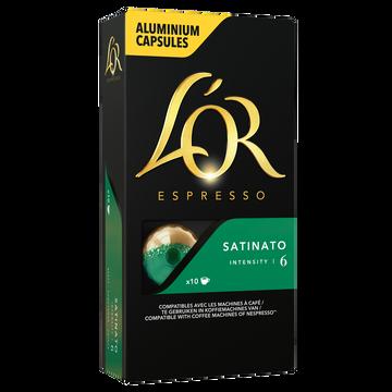 Maison du Café Café Capsules L'or Espresso Satinato X10