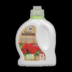 Engrais géranium U, 1L, utilisable en agriculture biologique