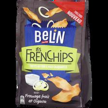 Belin Les Frenchips Goût Fromage Frais Et Oignons , Sachet De 100g