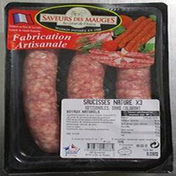 SAUCISSES TOUL.NATURE S/COL.X3