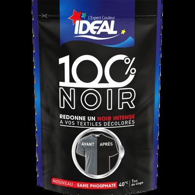Teinture pour tissus 100% noir Idéal, 400ml