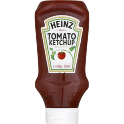 "Tomato ketchup HEINZ ""Top Down"", flacon souple de 650g"