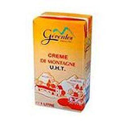 Crème de montagne UHT GERENTES 35%MG 1
