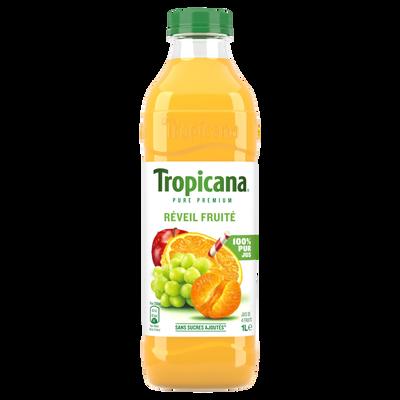 TROPICANA Pure Prémium Réveil Fruité PET 1 litre