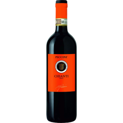 Vin rouge d'Italie Chianti Docg PICCINI Sangiovese, 75cl