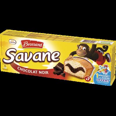 Gâteaux marbrés au chocolat noir BROSSARD, 7 pièces, 189g