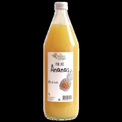 Jus d'ananas LA SOURCE DU VERGE, bouteille 1l
