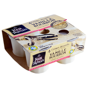 Ker Ronan Crème Dessert Vanille Bourbon Ker Ronan, 4x105g