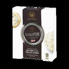 Spécialité à base de beurre et de brisure de truffe noire (aromatisée9,87%) U SAVEURS, 45g