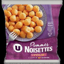 Pommes noisettes U, sachet de 1kg
