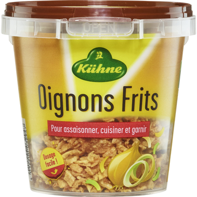 Oignons frits KUHNE, boîte de 100g