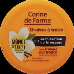 Graisse à traire accélerateur de bronzage CORINE DE FARME, pot de 150ml