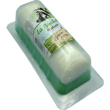 Bûchette fraîche blanche lait chèvre pasteurisé à pate molle, 22% de MG, JACQUIN, 150g
