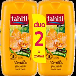 Douche origine vanille gourmande TAHITI, flacon 2x250ml