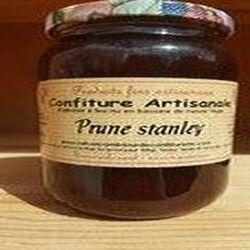 Confiture de Prune Stanley, Recette du Jura, 430g