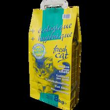 Litière chats FRESHCAT, sachet de 8kg
