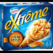 Nestlé Cônes Parfum Crème Brûlée, Extreme, 6x71g