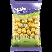 Milka Petits Oeufs Fourrés Lait Praliné Croquant Milka, 500g