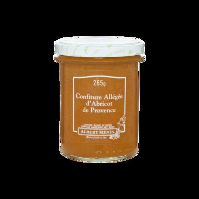 Confiture allégée d'abricot de Provence ALBERT MENES,265g