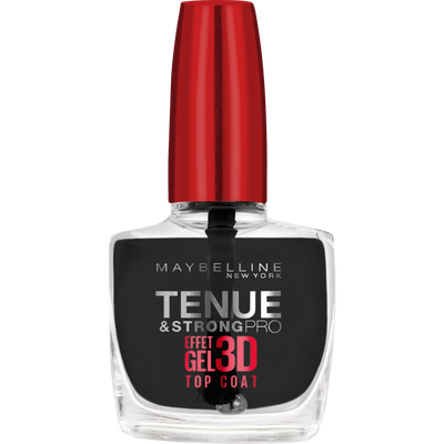 Vernis à ongles tenue & strong gel top coat professional nu MAYBELLINE