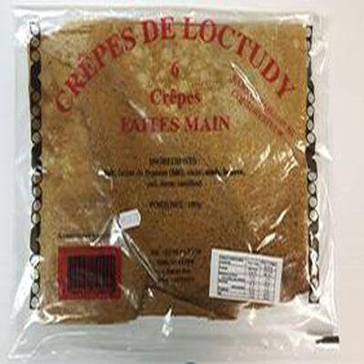6 crêpes faites main / Crêperie de Loctudy