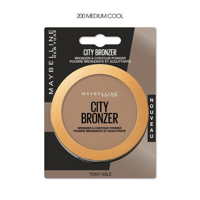 Poudre city bronzer medium cool 200 blister MAYBELLINE