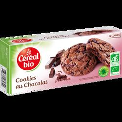 Cookies bio tout chocolat CEREAL BIO, 160g