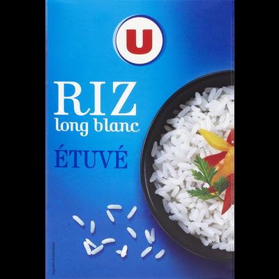 Riz long grain étuvé U étui vrac 1kg