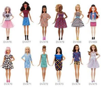 BARBIE FASHIONISTAS MATTEL