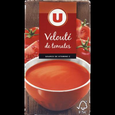 Velouté de tomates U, brique de 1 litre