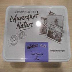 Assortiment biscuits moelleux Auvergnat vanille framboise et citron 220g