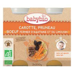 BABYBIO CAROT PRUNEAU BOEUF