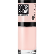 Vernis à ongles colorshow 31 peach pie MAYBELLINE, nu